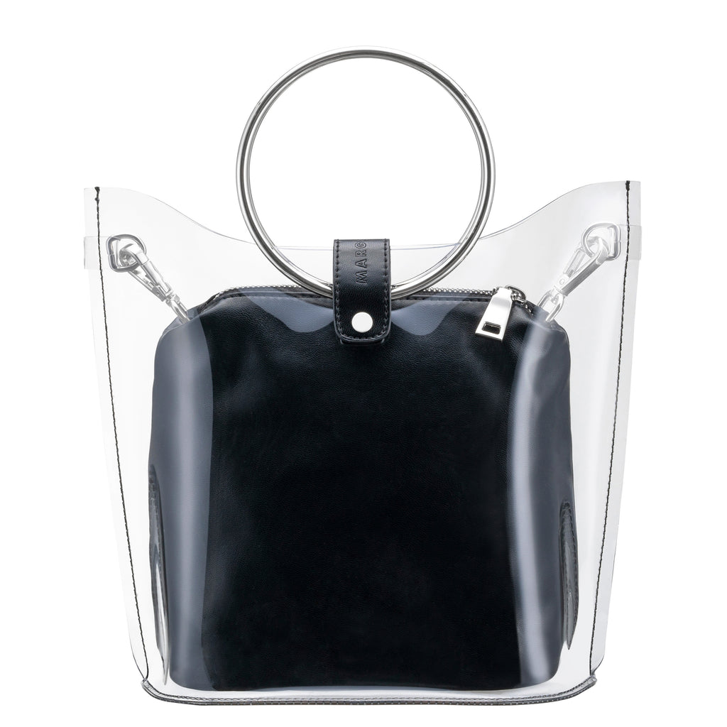Clear Round Tote