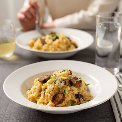 Awesomely Easy Family-Style Risotto