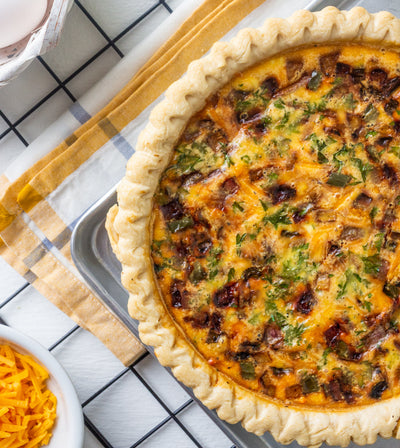 Mama's Apple Maple Quiche
