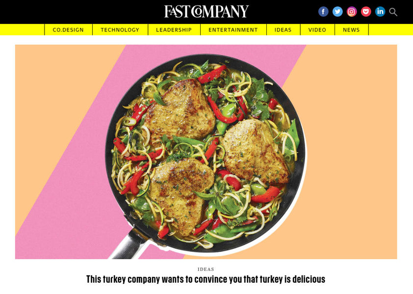 Fast Company Features The Great American Turkey Company