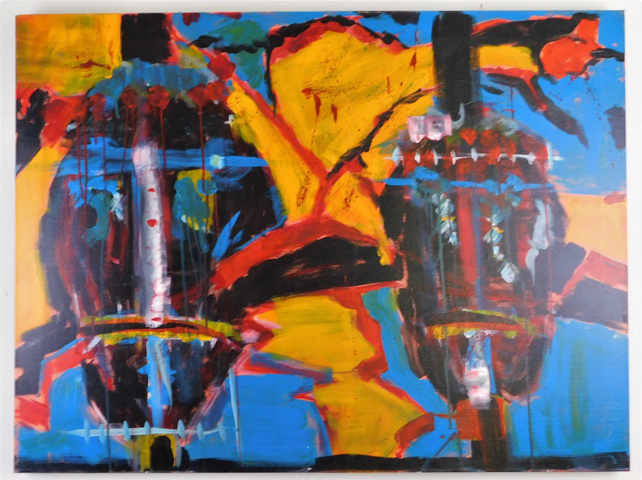 Opus III - Hermann Fischer Acrylic on Canvas