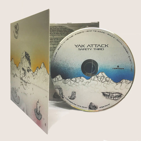 yak attack safety third CD image