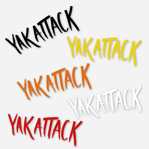 Yak Attack Decal