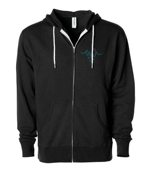 Reflecting Trees Zip-Up Hoodie