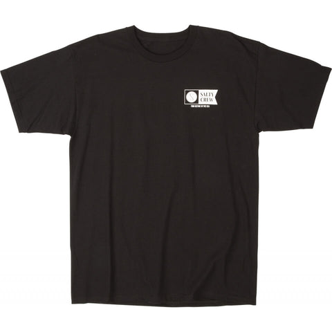 Salty Crew Alpha S/S Tee in Black