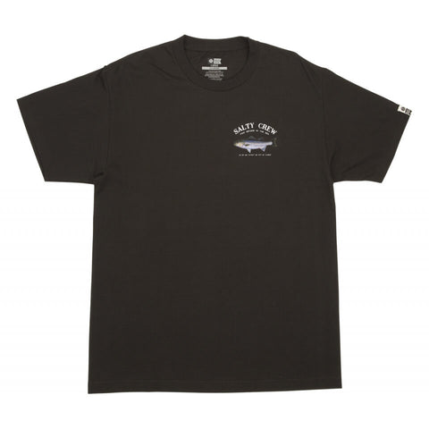 Salty Crew STRIPER STANDARD S/S TEE in Black