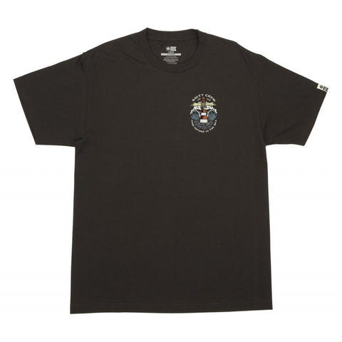 Salty Crew BEACON  STANDARD S/S TEE in BLACK