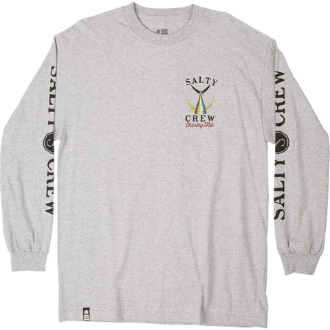 Salty Crew TAILED L/S in Athletic Heather