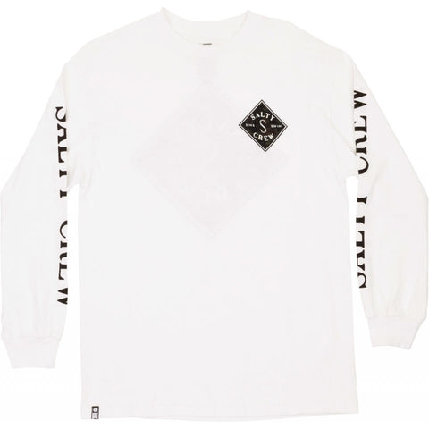 Salty Crew Tippet Decoy Standard L/S Tee in White