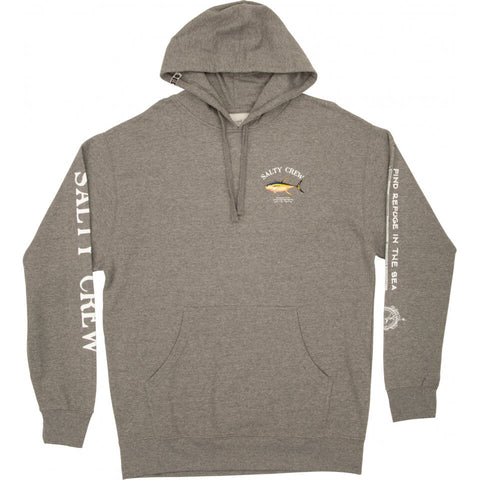 Salty Crew AHI MOUNT FLEECE in Gunmetal/Heather