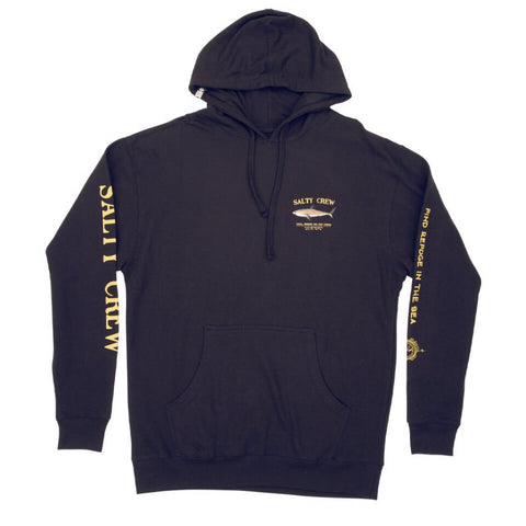 Salty Crew Bruce Hood Fleece in Navy