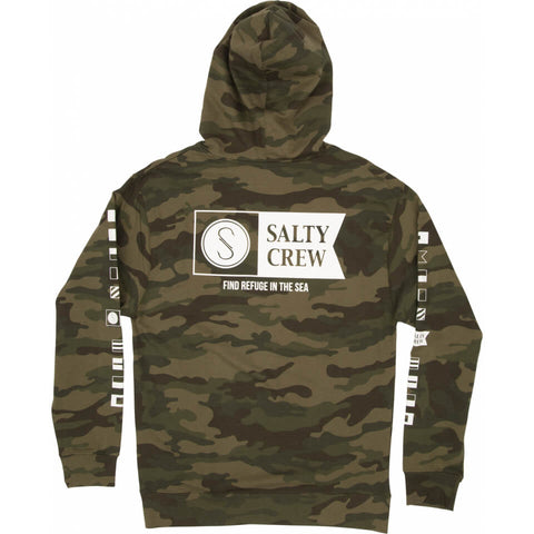 Salty Crew Alpha Fleece in Camo