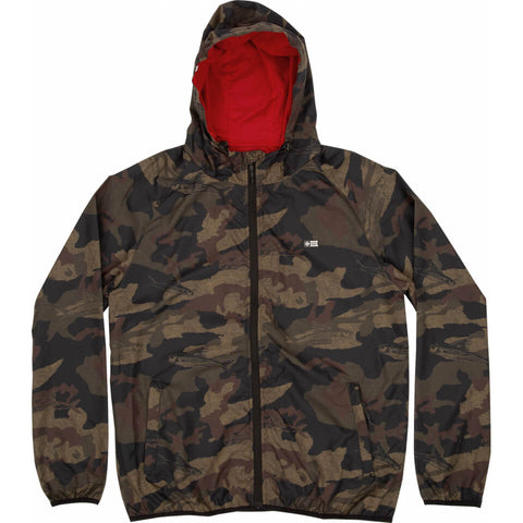 Salty Crew Seawall Packable Jacket in Camo