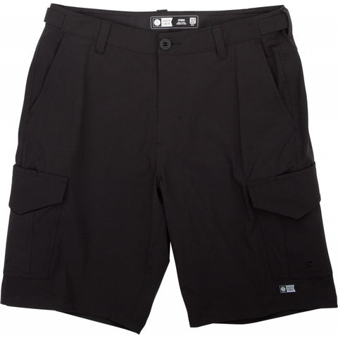 Salty Crew Deep Sea II Cargo Short in Black