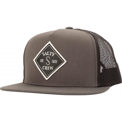 Salty Crew Tippet Trucker in Charcoal/Black