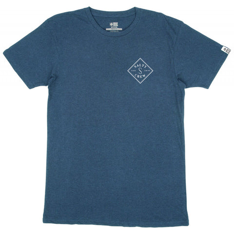 Salty Crew Tippet S/S T-Shirt in Harbor Heather