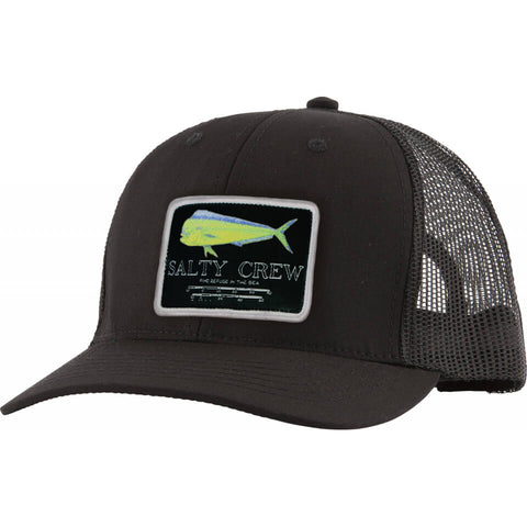 Salty Crew MAHI Mount RETRO TRUCKER in Black