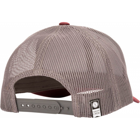 Salty Crew MAHI Mount RETRO TRUCKER in Burgundy/Grey