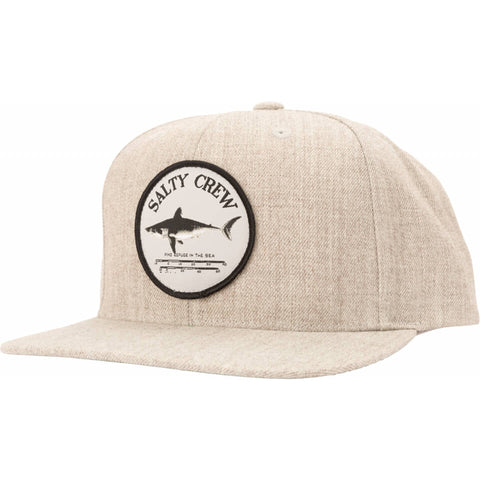 Salty Crew Bruce 6 Panel in Oatmeal