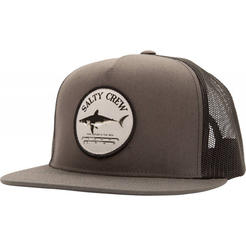 Salty Crew Bruce Trucker in Charcoal/Black
