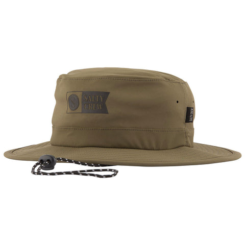 Salty Crew Indicator Tech Boonie in Olive