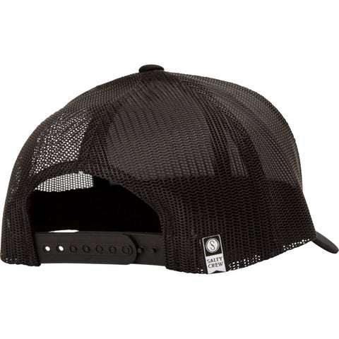 Salty Crew Pacific Retro Trucker in Black