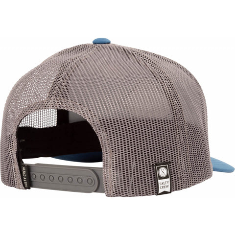 Salty Crew Sea Line Retro Trucker in Blue/Grey