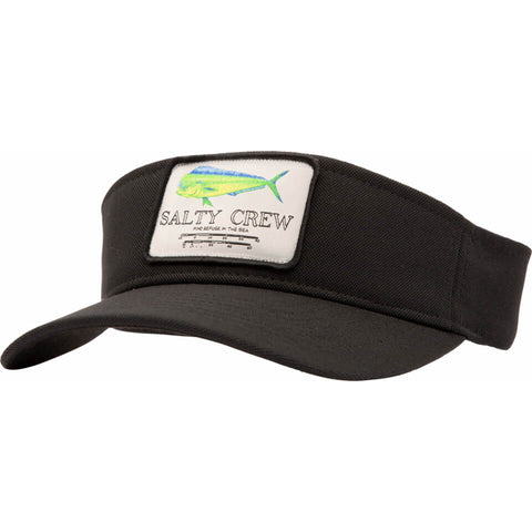 Salty Crew Mahi Mount Visor in Black