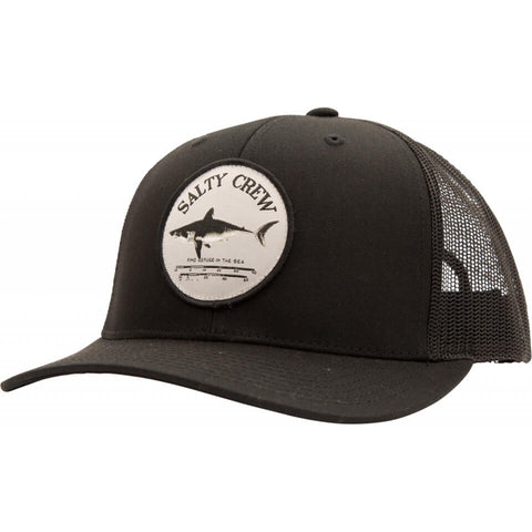 Salty Crew Bruce Retro Trucker in BLACK