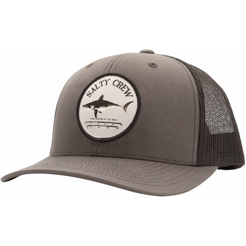 Salty Crew Bruce Retro Trucker in Charcoal/Black