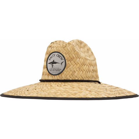 Salty Crew Bruce Straw Hat in Black