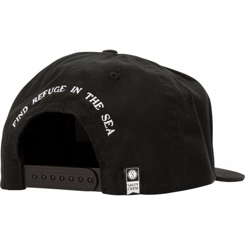 Salty Crew MIDSHIP 5 PANEL in Black