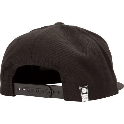 Salty Crew DEEP REACH 6 PANEL in Black
