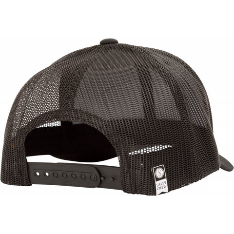 Salty Crew MOSSBACK RETRO TRUCKER in Black