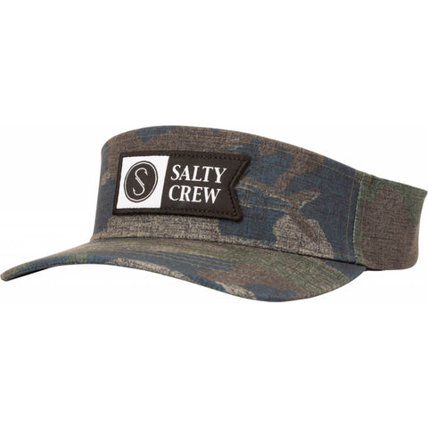 Salty Crew ALPHA FLAG VISOR in Camo