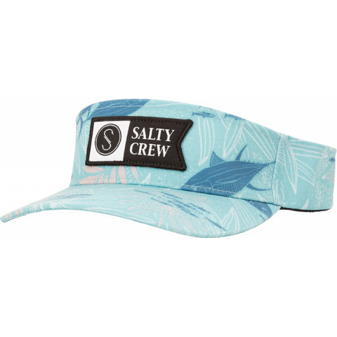 Salty Crew ALPHA FLAG VISOR in Jade