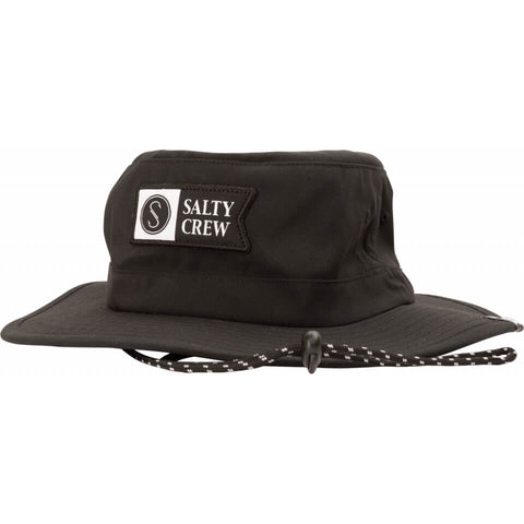 Salty Crew ALPHA TECH BOONIE in Black