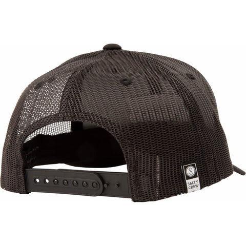 Salty Crew PINNACLE 2 RETRO TRUCKER in Black