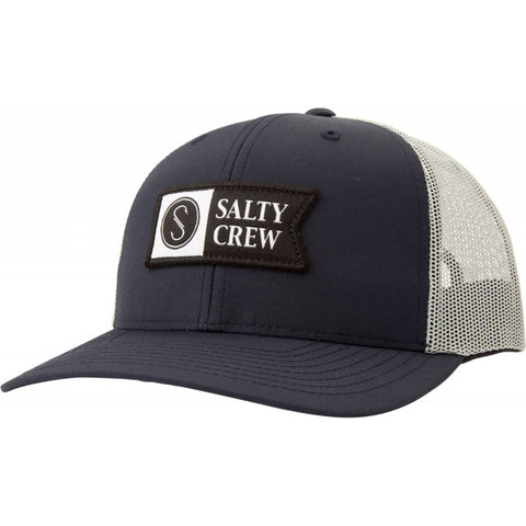 Salty Crew PINNACLE 2 RETRO TRUCKER in Navy/Ice