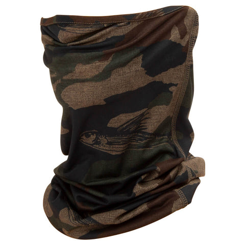 Salty Crew Pinnacle Camo Face Gaiter in Camo