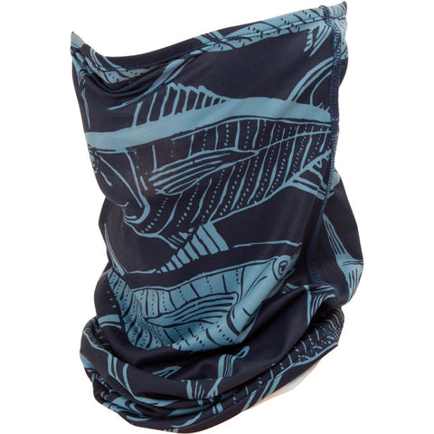 Salty Crew Pinnacle Navy Face Gaiter in Navy