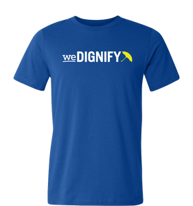 weDignify Crew Neck - Blue