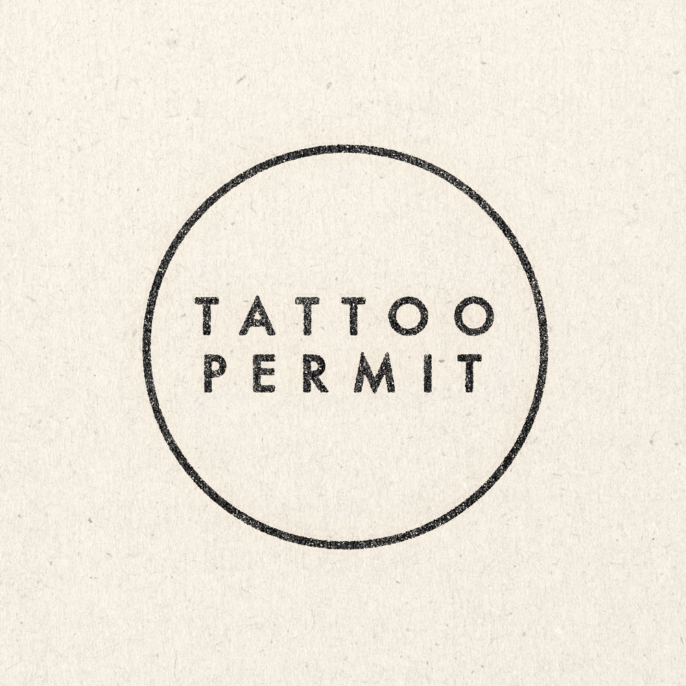 Tattoo Permit
