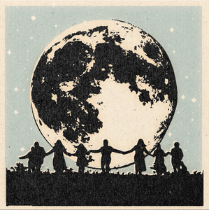 'Moon People' Print