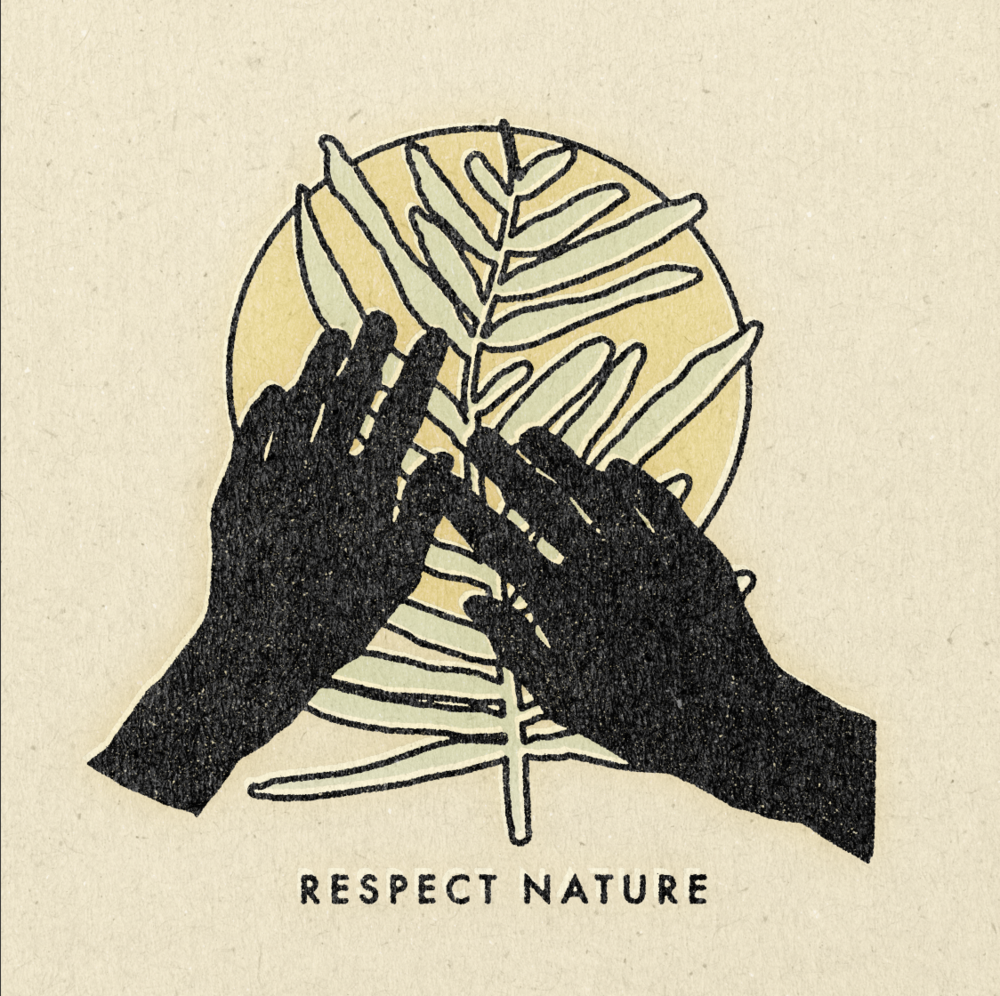 'Respect Nature' Print