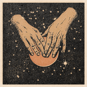 'Hands In Space' Print