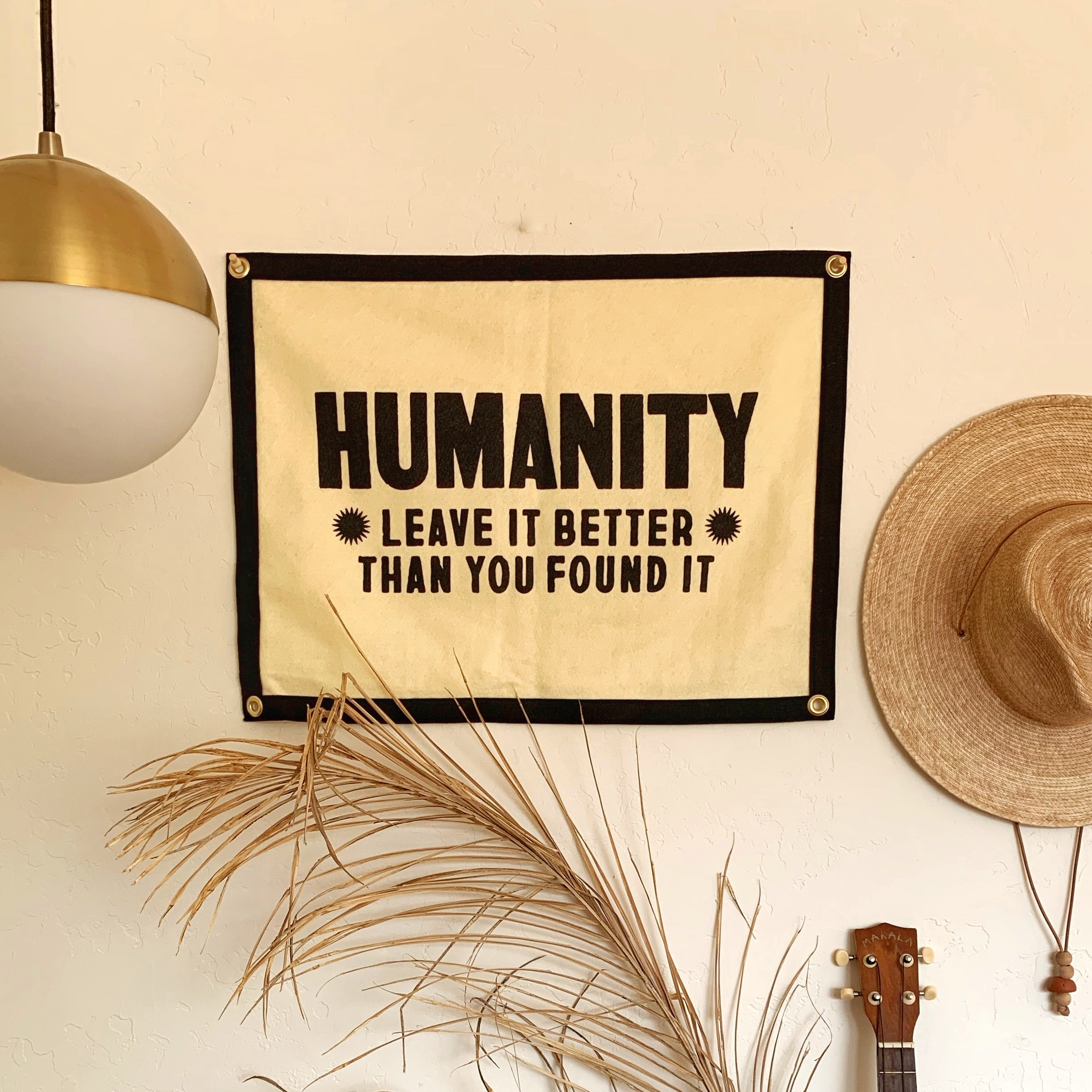 'Humanity' Banner