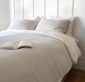 Linen Pillow Case - Light Grey