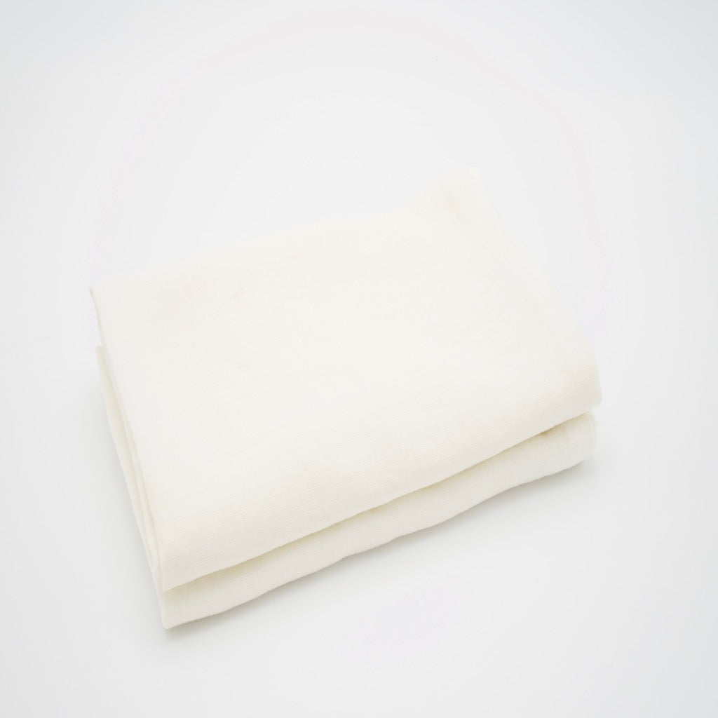 Linen Pillow Case - Ivory