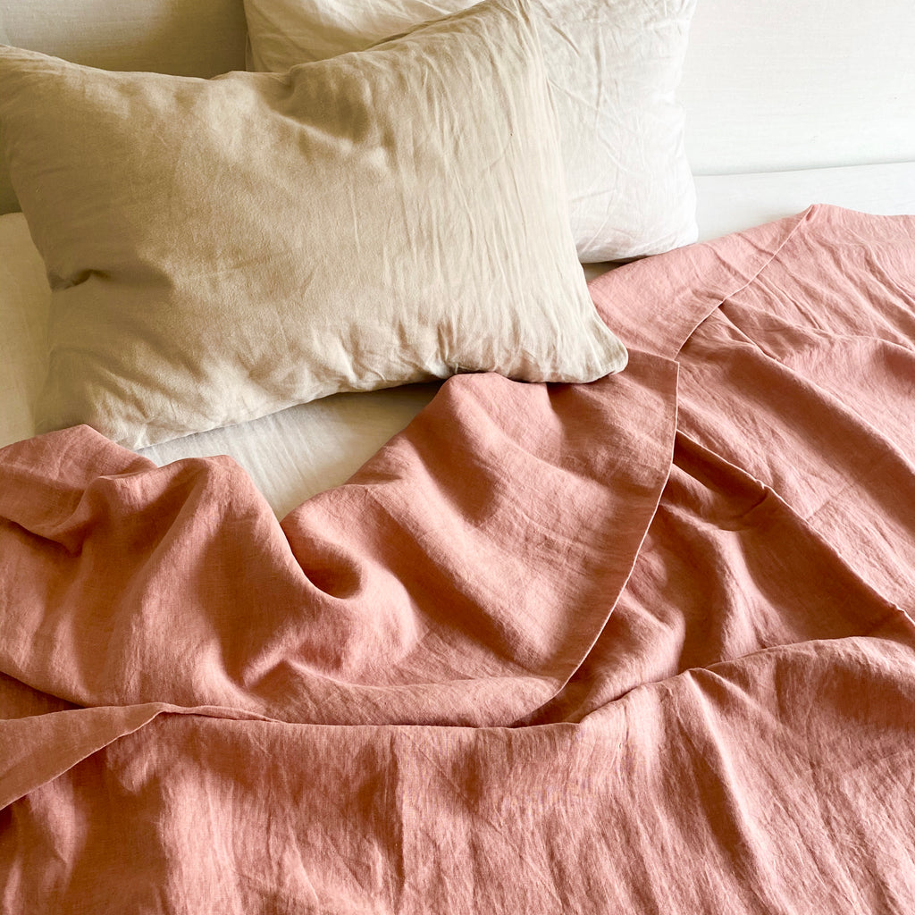 Duvet Cover - Salmon